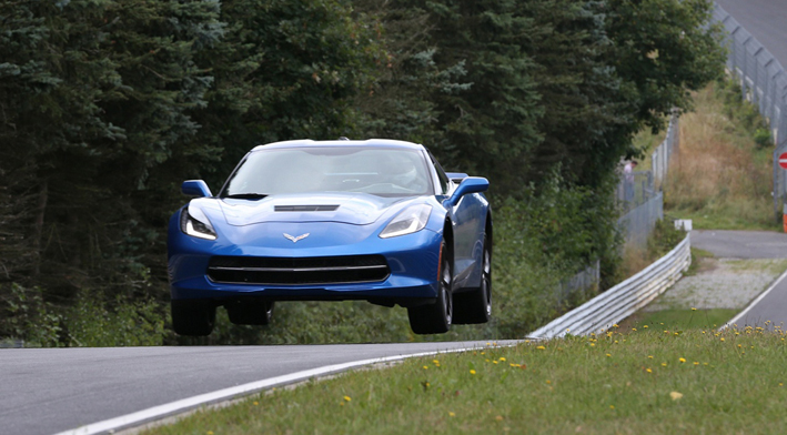 Corvette Stingray testing at Nürburgring