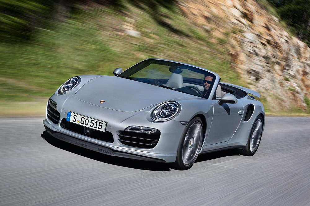 Porsche 911 Turbo Cabriolet, més potents i eficients