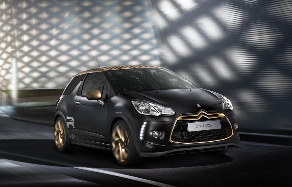 Nova sèrie limitada del Citroën DS3, Racing Gold Mat