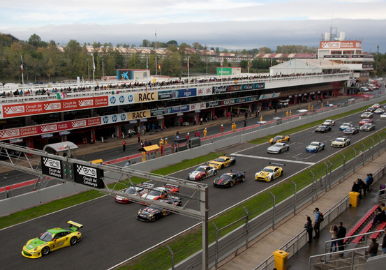 Fi de festa de l'International GT Open al Circuit de Barcelona-Catalunya