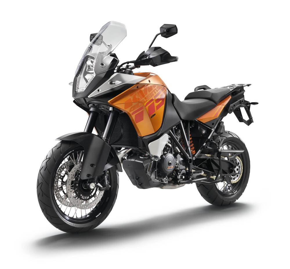 El control d'estabilitat MSC disponible per a totes les KTM 1190 Adventure 2013