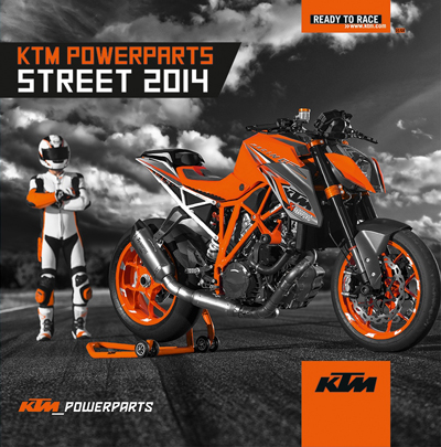 Imminent llançament del Catàleg KTM Power Parts 2014