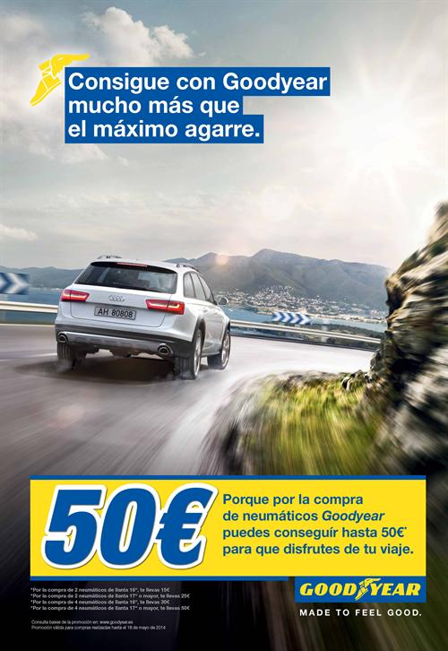 Goodyear regala 50 €