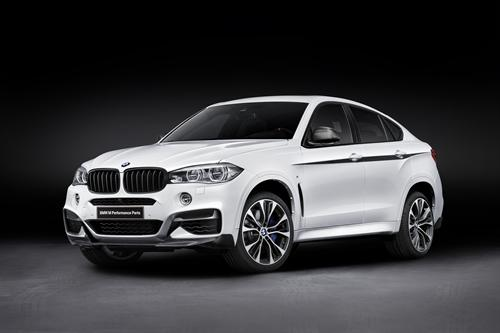 BMW M Performance per al nou BMW X6