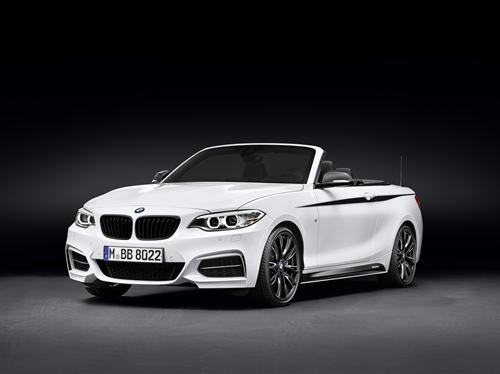 Accessoris BMW M Performance per al nou BMW Sèrie 2 Cabrio