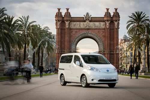 Set places per al Nissan e-NV200