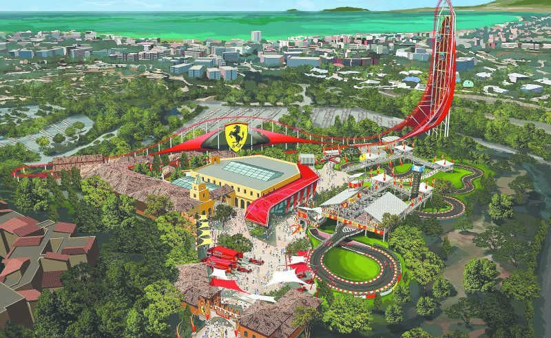 Ferrari Land ja té data d'obertura