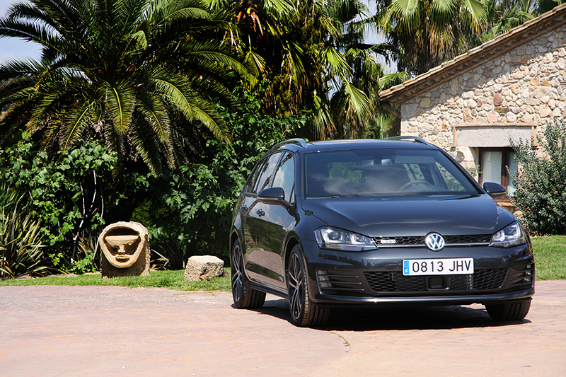 VOLKSWAGEN GOLF VARIANT: Familiar d'altes prestacions