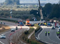 L'accident de Freginals podria haver estat causat per son al volant