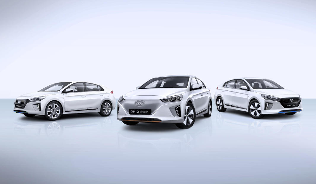 El Ioniq ha valgut el New Car Awards