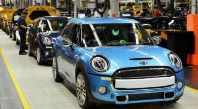 Planta de Mini a Oxford (Foto: BMW)