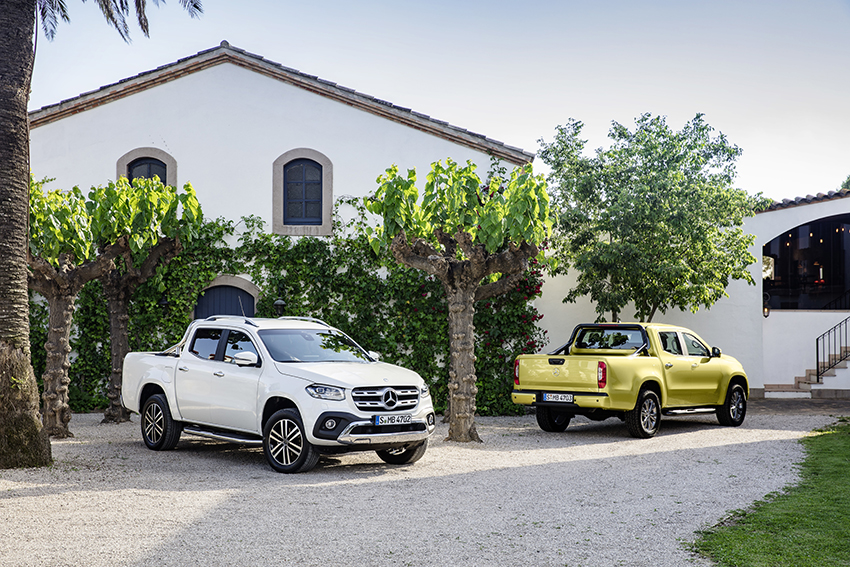 Mercedes-Benz treu al mercat un model pickup, la nova Classe X