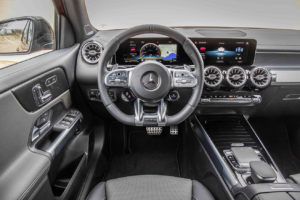 Interior del Mercedes GLB
