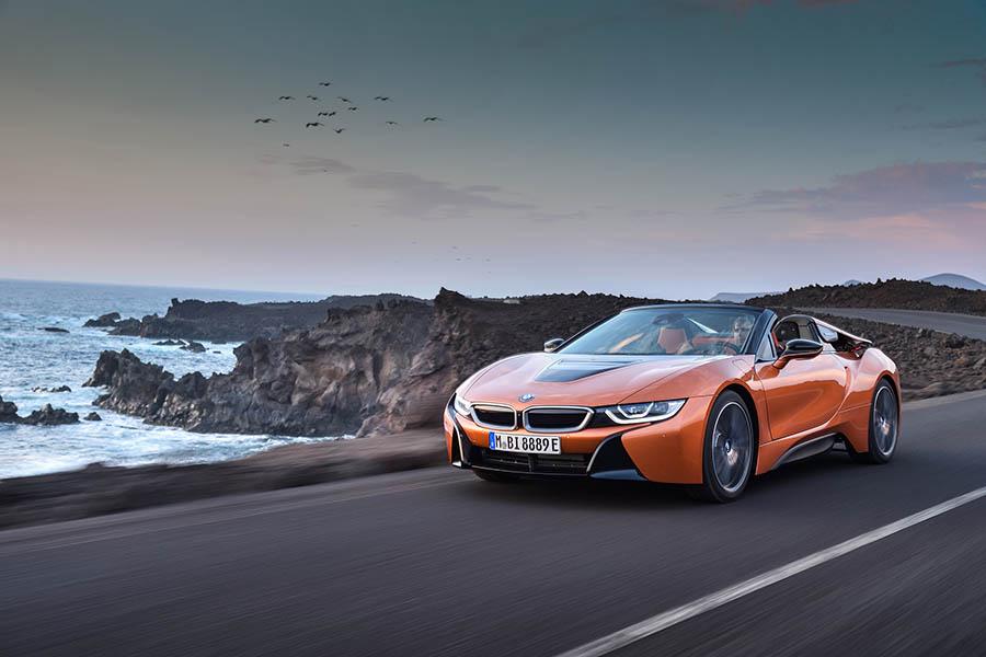 BMW i8 Roadster: Esportiu de sensació