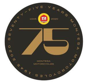 El logo de Montesa amb el 75