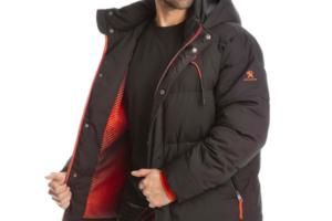 Una de les jaquetes inspirades en el Peugeot 2008