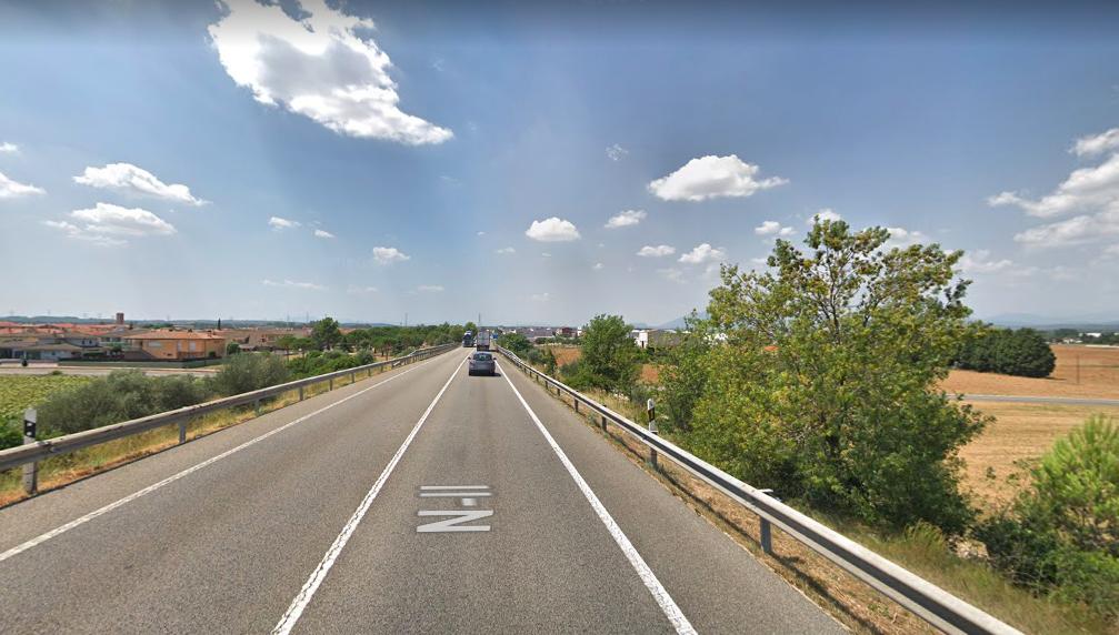 La N-II gironina tindrà un nou radar de tram entre Figueres i Llançà