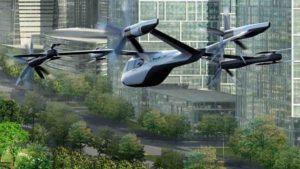 El taxi aeri d'Uber i Hyundai en una recreació virtual