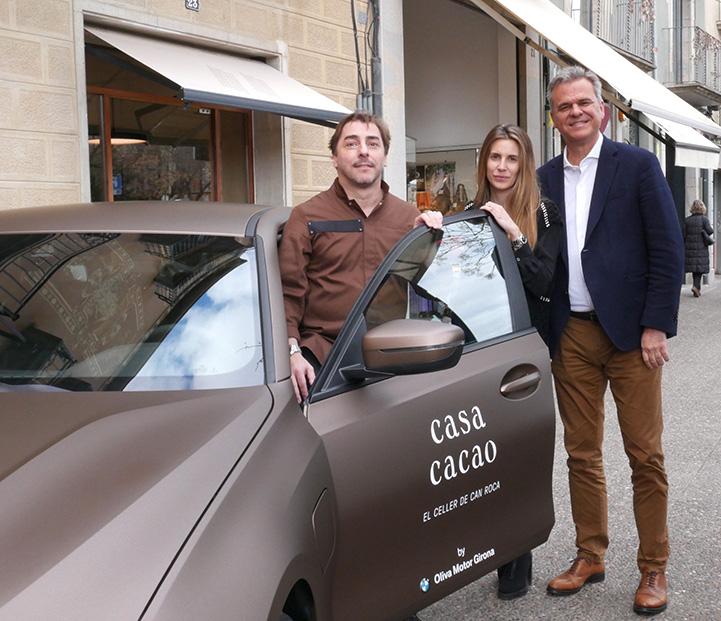 Oliva Motor Girona signa un conveni de col·laboració amb Casa Cacao Girona