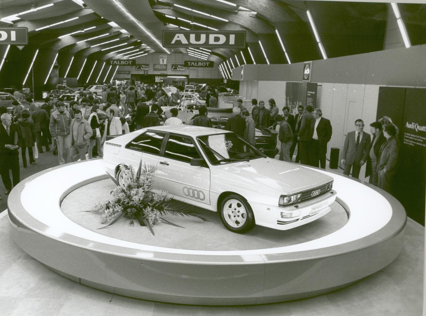 Audi celebra 40 anys del Quattro