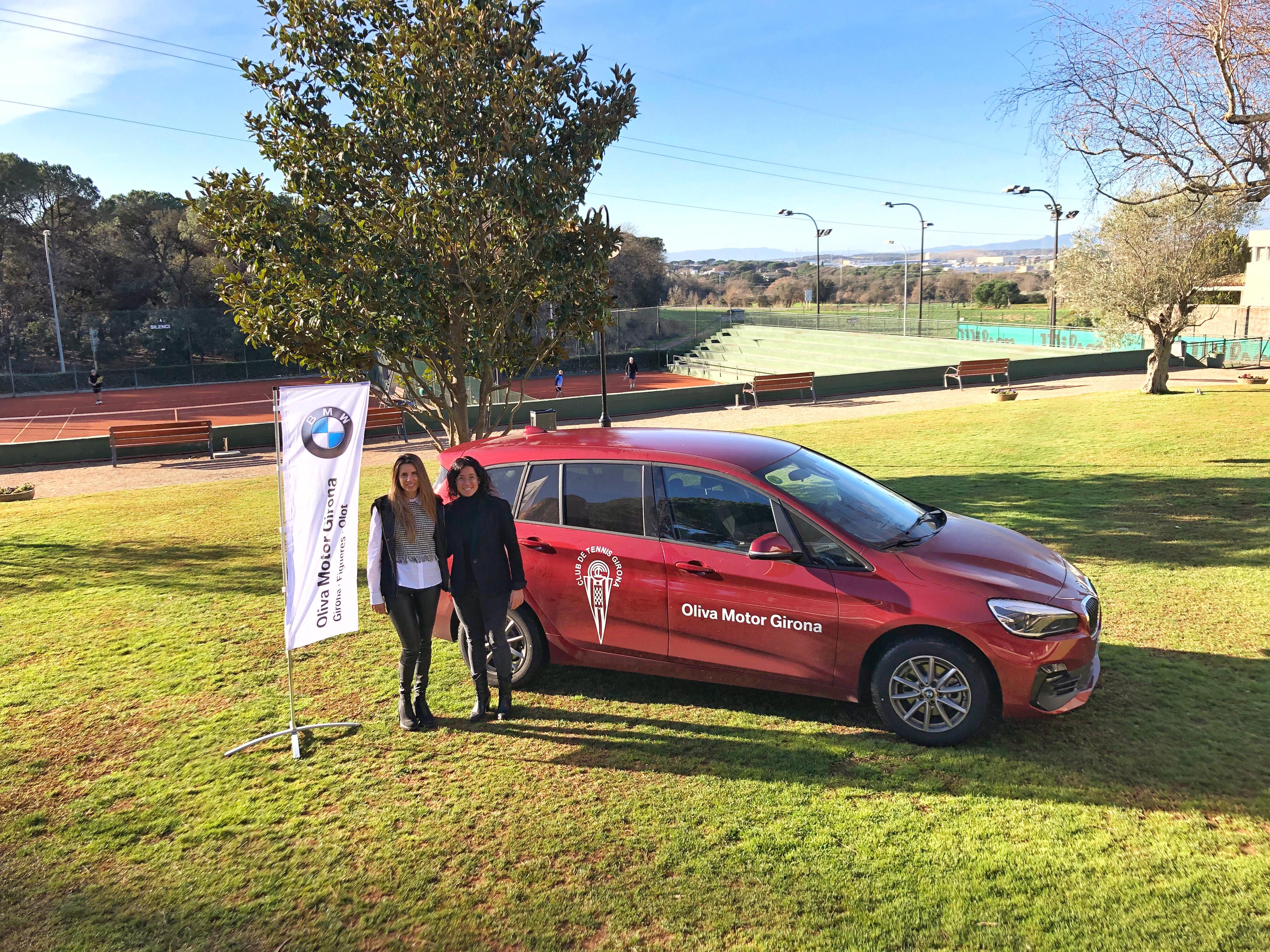 Oliva Motor Girona signa un conveni amb el Club de Tennis Girona