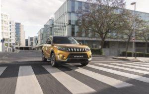 El nou Suzuki Vitara de color groc