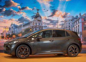 El Volkswagen ID3 presentat recentment a Madrid