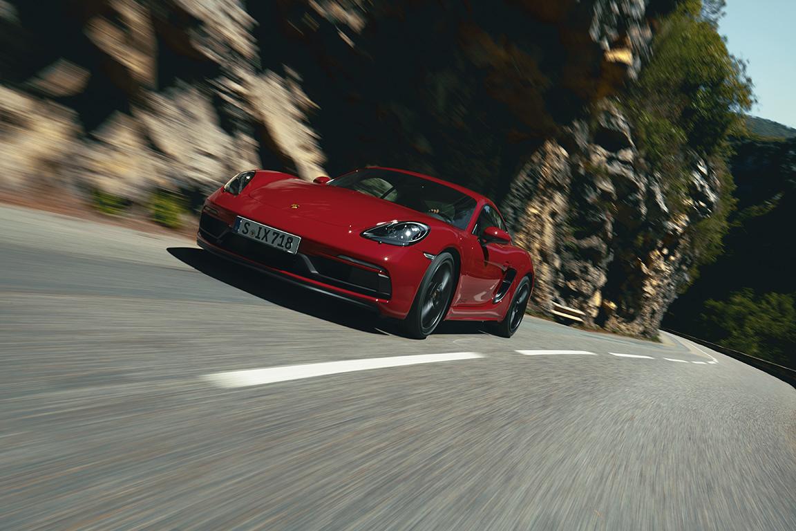 Porsche 718 GTS 4.0: Pur plaer de conducció