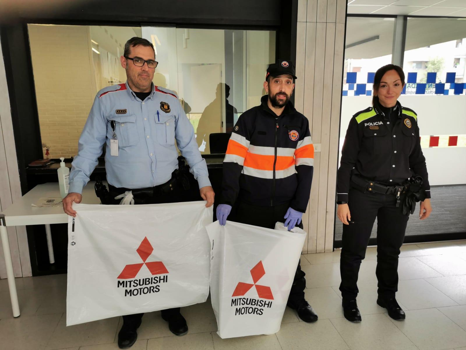 Mitsubishi AM 94 Motor col·labora amb ambulàncies i protecció civil