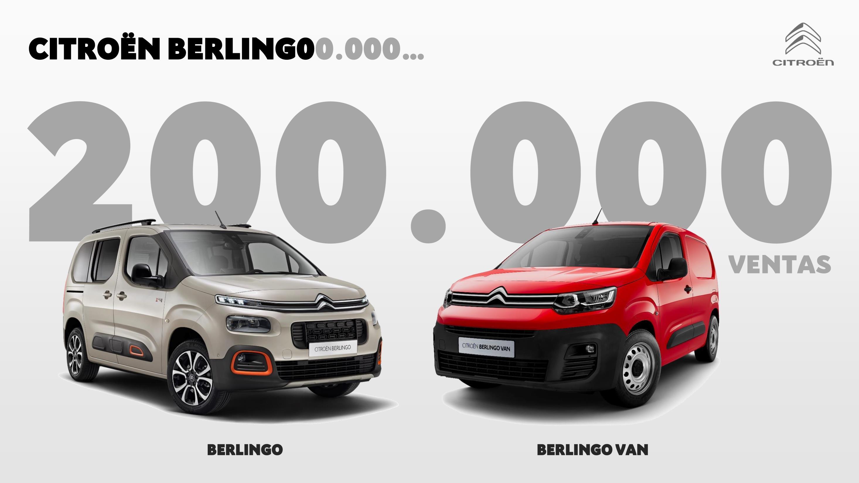 El Citroën Berlingo supera les 200.000 vendes