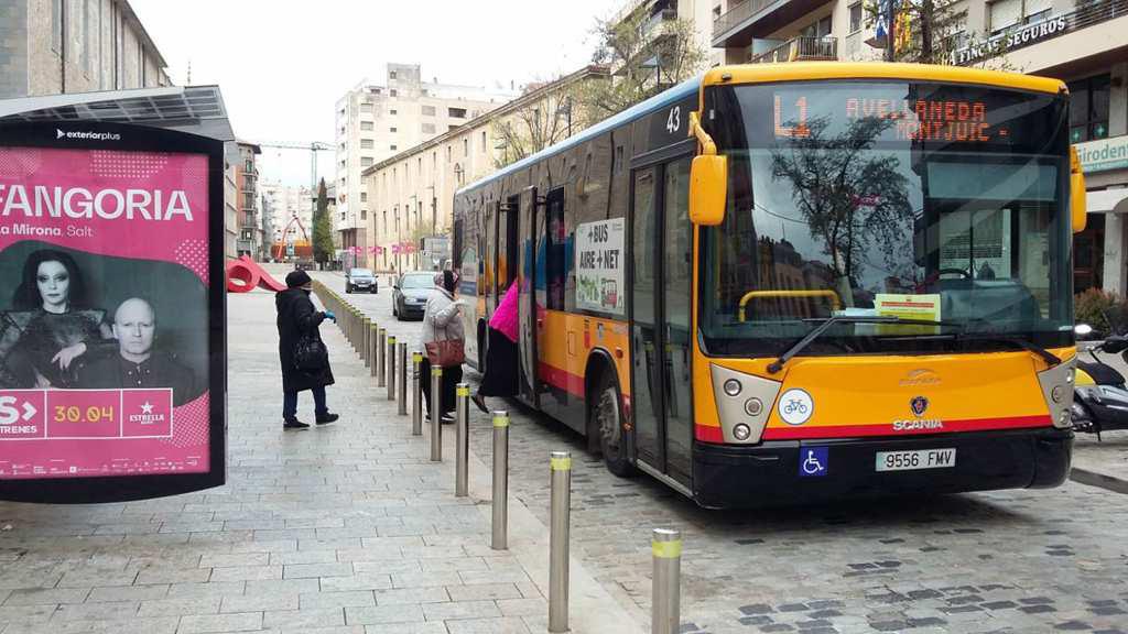 L'Ajuntament de Girona redueix la freqüència dels busos de TMG a un servei per hora