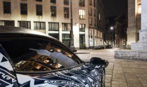 Lateral del Maserati MC20