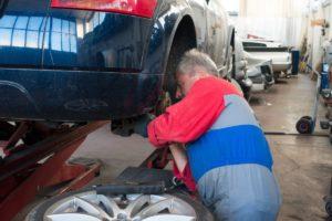 Un taller de reparació de vehicles