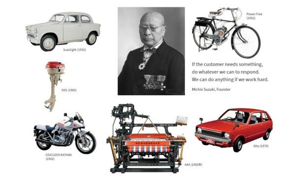 Suzuki Motor Corporation celebra 100 anys