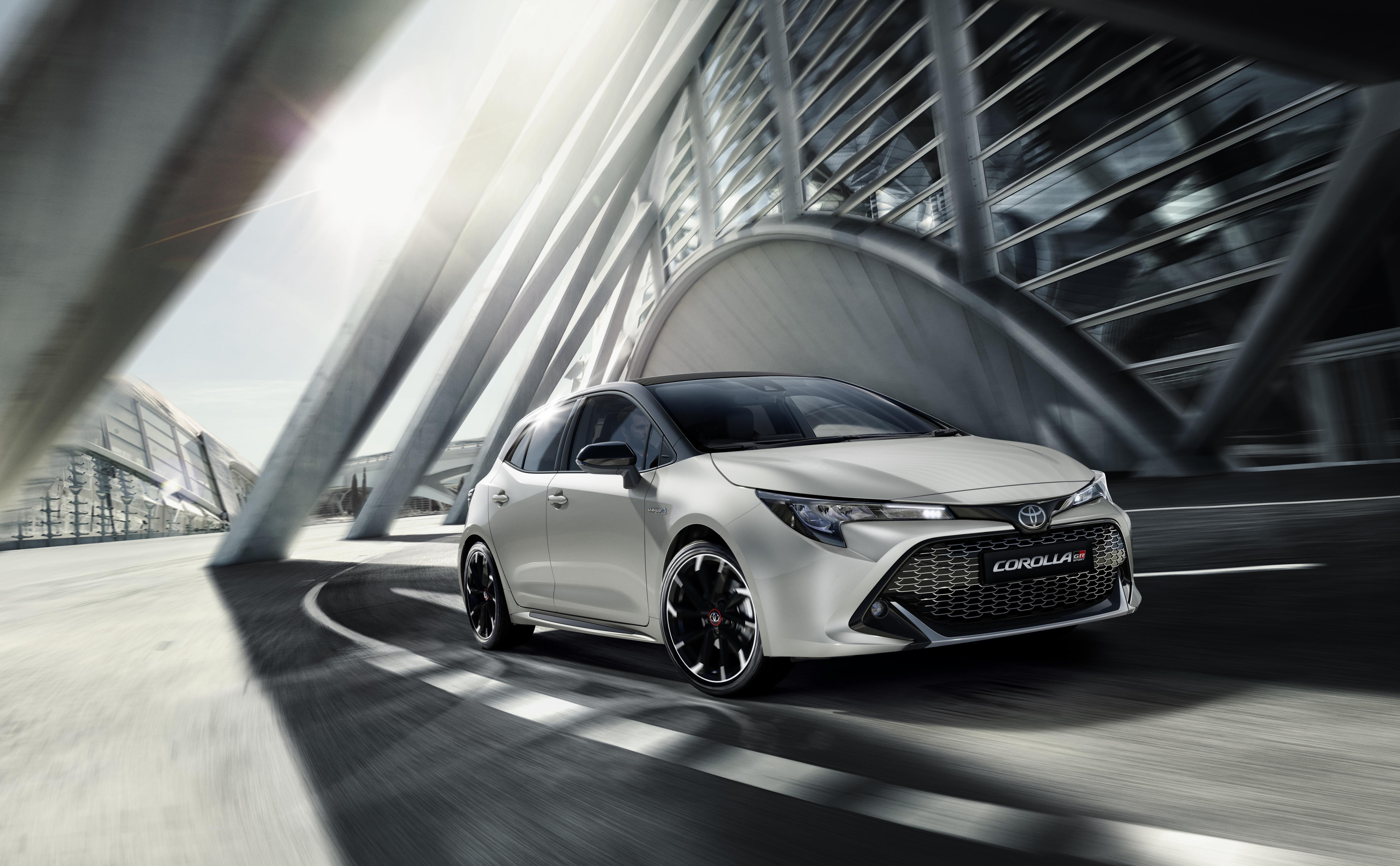 El Toyota Corolla Gr-Sport ja roda a Catalunya