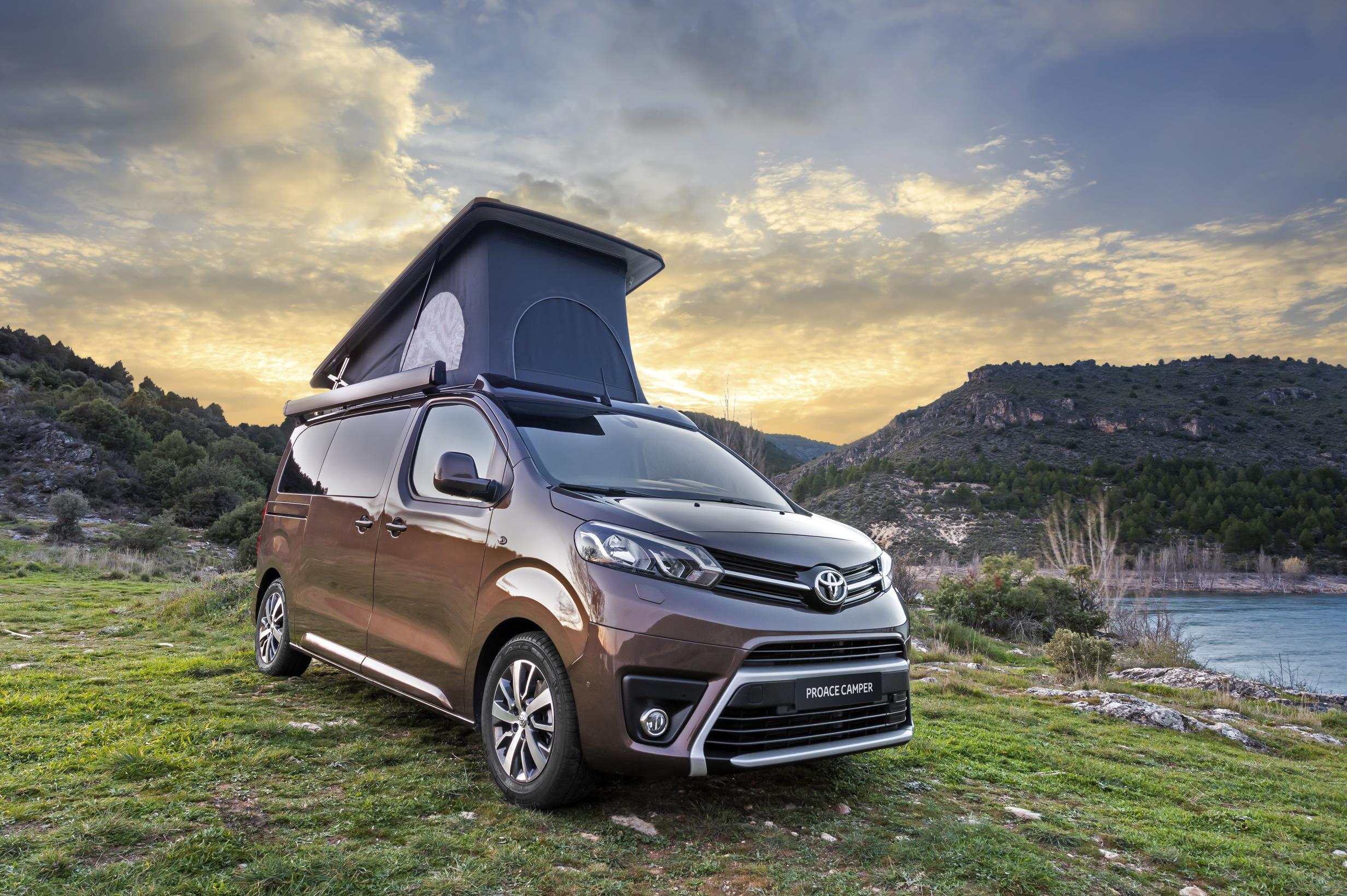 Toyota llança la versió més equipada del Proace Verso Camper