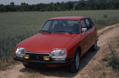 El Citroën GS compleix 50 anys