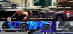 Lexus ha llançat la paltaforma 'Des de casa, seguim amb tu' amb diverses activitats i informació per suportar el confinament obligat per la crisi del coronavirus. Una plataforma que es basa en la filosofia japonesa Omotenashi.