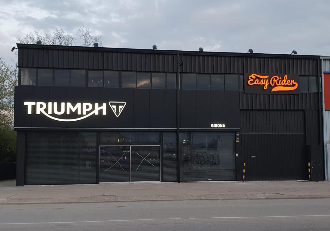 Easy Rider es trasllada a unes noves instal·lacions i incorpora la marca Triumph