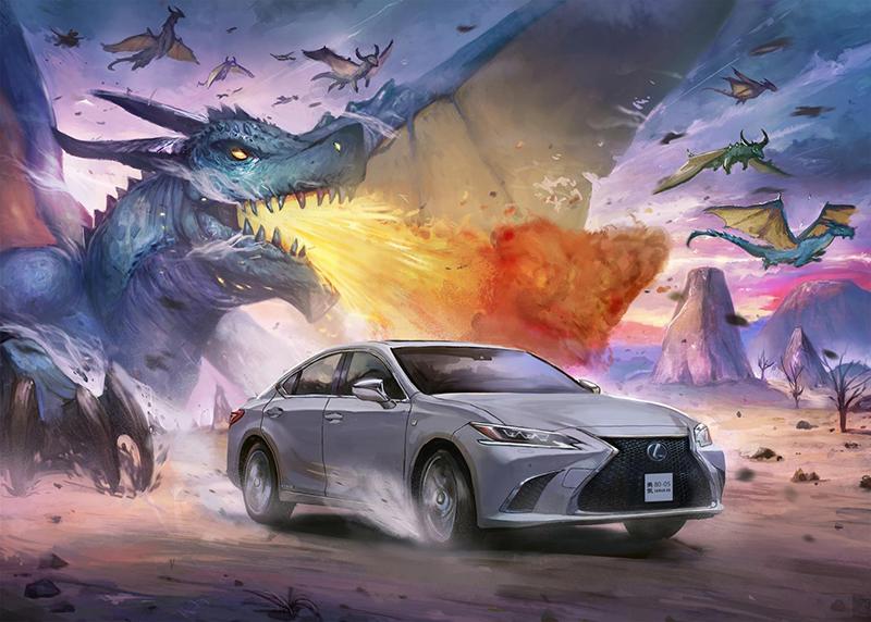 Lexus crea una original sèrie de dibuixos manga