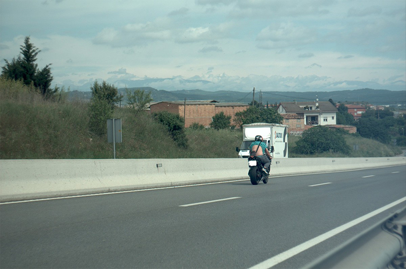Enxampat un motorista a 208 km/h per la C-55 a Manresa