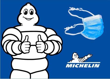 Michelin dona més de 400.000 mascaretes quirúrgiques