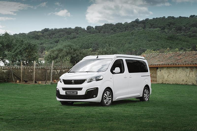 La gamma camper de Peugeot i Tinkervan: per a gaudir de la natura
