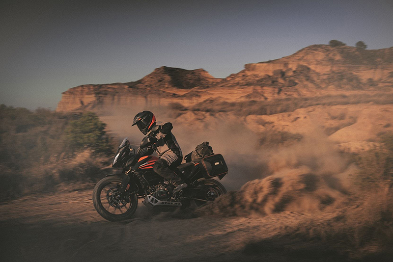 KTM 390 Adventure, digna hereva