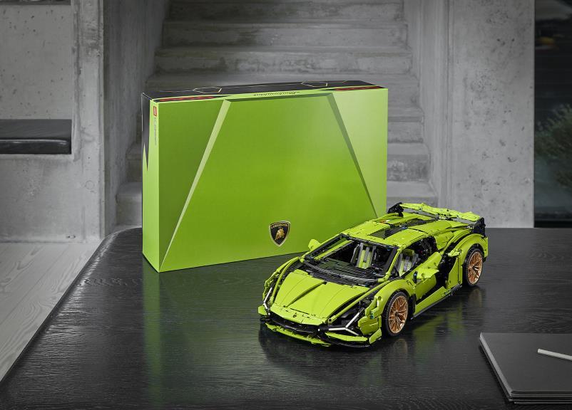 Automobili Lamborghini i el Grup LEGO s'han unit per concebre el Lamborghini Sian FKP 37 de LEGO Technic ™