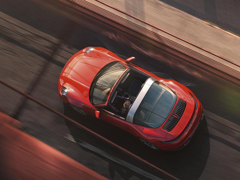 Nou Porsche 911 Targa: Pur disseny