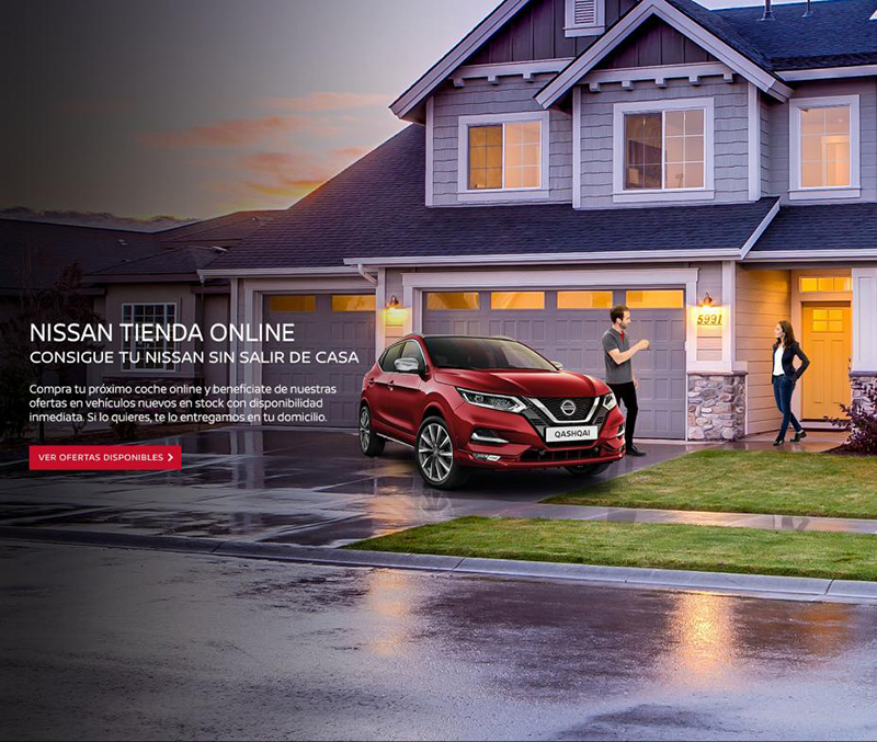 Nissan fa possible la venda en línia de la seva oferta en 7 clics i 7 dies