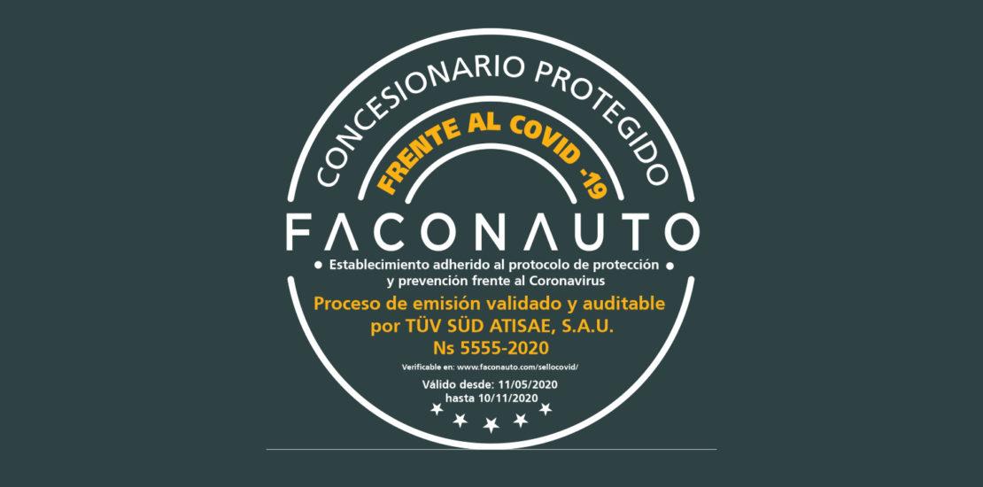 "Faconauto crea el segell ""Concessionari protegit enfront del COVID-19"""