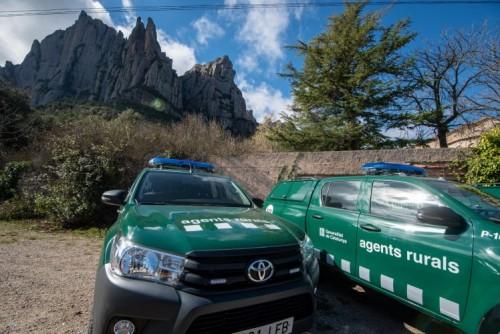 Els Agents Rurals de Catalunya renoven la seva nova flota amb 50 Toyota Hilux