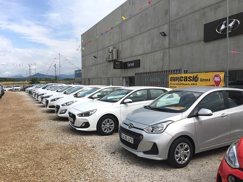 Èxit d'Expocasió Girona durant la primera setmana de Fira amb uns 200 cotxes venuts